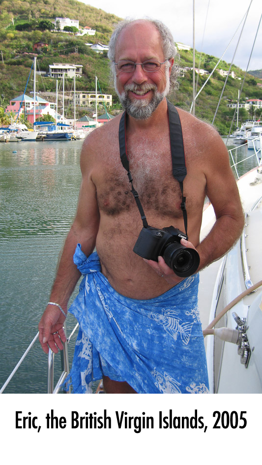 Eric, The British Virgin Islands, 2005