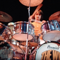 The Who: Keith Moon at the Plumpton Festival Aug 9, 1969.