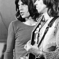Rolling Stones: Mick Jagger and Keith Richards at the Rock n Roll Circus 1968