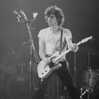 Rolling Stones: Keith Richards at Oshawa CNIB benefit 1979