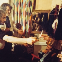 The Nice 1969 back stage dressing room